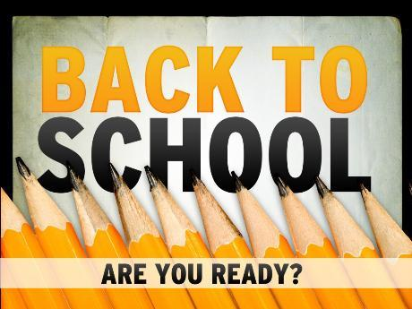 First Day of School is September 3, 2014!